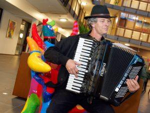 Accordeonist en zanger Willem