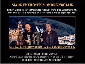 Mark Enthoven & André Vrolijk ' Een muzikale wereldreis'